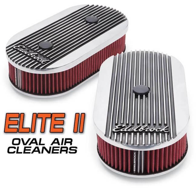 Edelbrock: Elite II Oval Air Cleaner