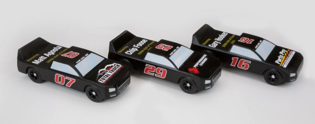 AAM Group™ Honored SEMA Hall of Fame Inductees with Pinewood Derby Trucks