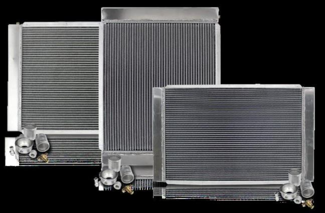 Northern Radiator: Boss Three-Row Radiator