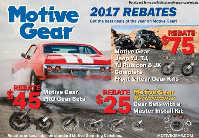 Motive Gear: Get Up to $75 Back