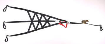 RaceQuip (828008): Quick-Release Triangle Roll Cage Net