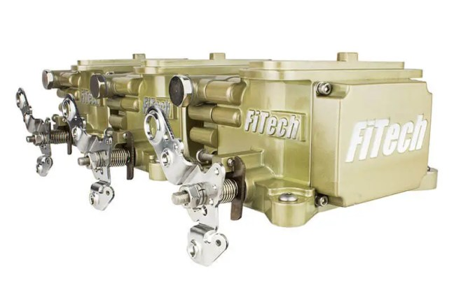 FiTech (39610): Go EFI Tri-Power 600HP System