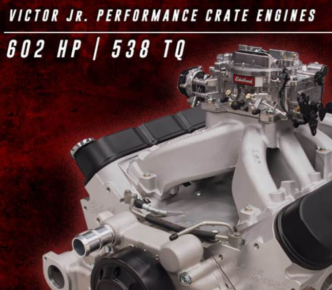 Edelbrock Victor Jr. LS 416 Crate Engine 46726