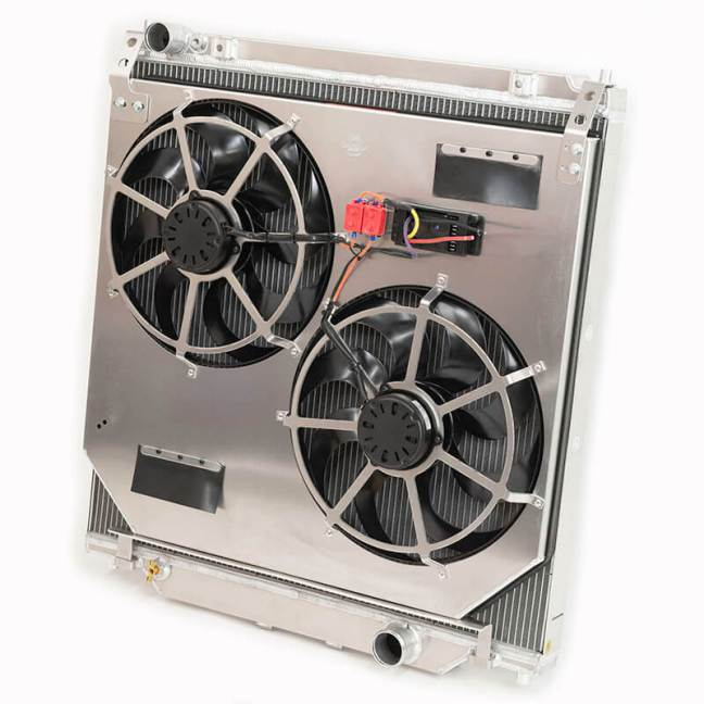 Flex-A-Lite Direct Fit Extruded Core Radiator Fan System for Ford Super Duty Turbodiesel 315360