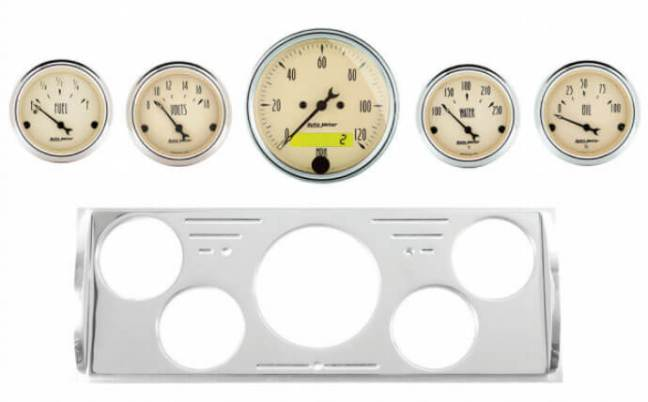 AutoMeter Direct Fit Gauge Sets for Classic Chevy and Ford
