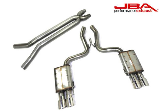 JBA Stainless Steel Cat Back Exhaust System for 18-19 Mustang 5.0 40-2647