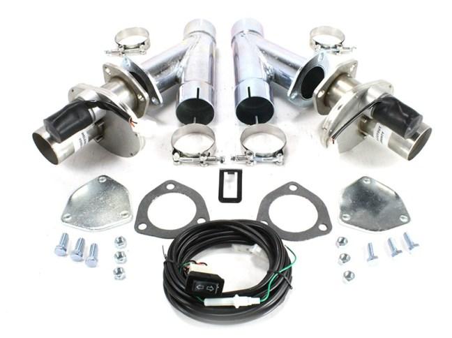 Doug's Headers 2.25 Inch Electric Exhaust Cut-Outs DEC225AK
