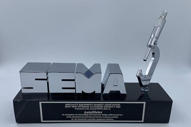 AutoMeter InVision Digital Dash Wins 2019 SEMA Award