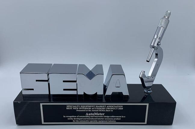 AutoMeter InVision Digital Dash Wins 2019 SEMA Award