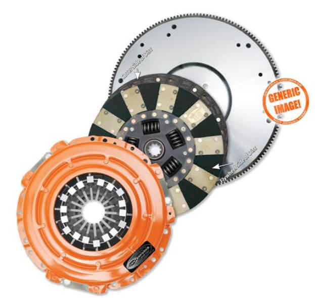 Centerforce Dual-Friction Clutch and Flywheel Kit KDF157077