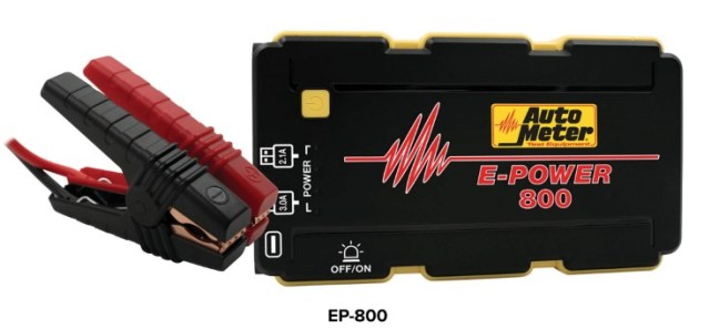 AutoMeter E-Power 800 Power Pack EP-800