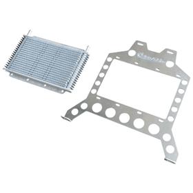 Flex-A-Lite (31970) Transmission Cooler Mounting Bracket Kit for `07-`18 Jeep Wrangler JK (Includes Cooler)