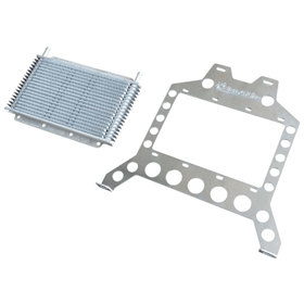 Flex-A-Lite (31970) Transmission Cooler Mounting Bracket Kit for `07-`18 Jeep Wrangler JK (Includes Cooler)