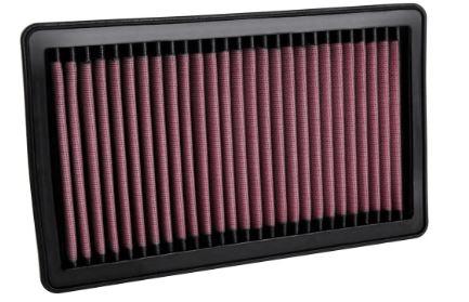 K&N (33-5106): Reusable High-Flow Air Filter™ for `20 Jeep Wrangler 3.0L V6