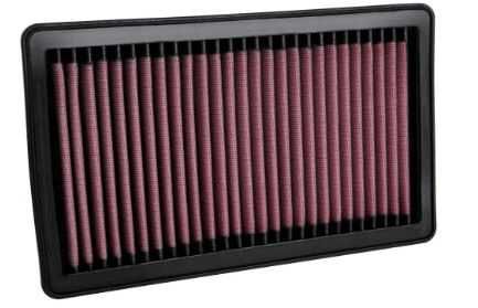 K&N (33-5106): Reusable High-Flow Air Filter™ for `20 Jeep Wrangler 3.0L V6