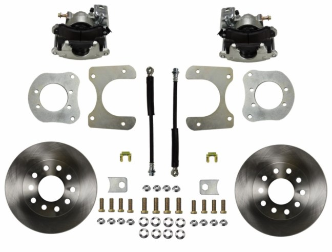 LEED Brakes Rear Disc Conversion Kit for Mopar 8.25 9.25 Rear Axle RC4001