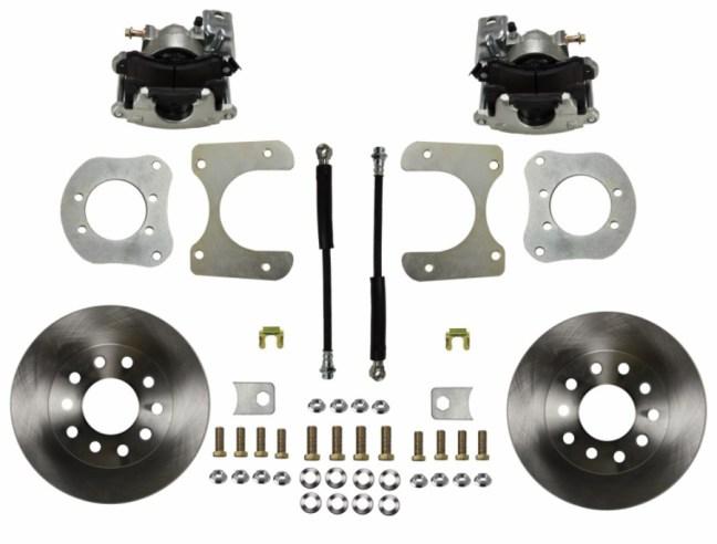 LEED Brakes (RC4001): Rear Drum-to-Disc Brake Conversion Kit for Mopar 8 1/4, 9 1/4 Rear Axles