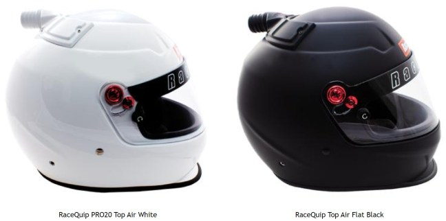 RaceQuip PRO 20 Snell SA2020 Top Air Helmet