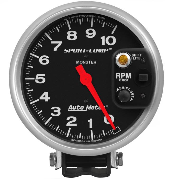 AutoMeter Products 5 Inch Sport-Comp Pedestal Tachometer 3903