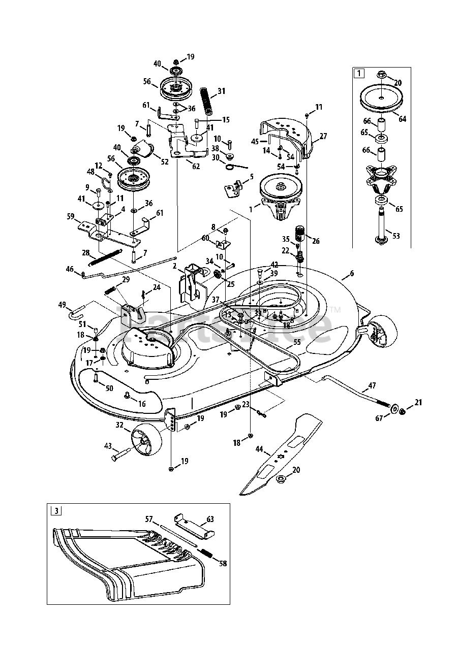 Craftsman Lt2000 Deck Diagram : craftsman, lt2000, diagram, Craftsman, 247.288853, (13BL78ST099), LT2000, Tractor, (2013), Mower, Parts, Lookup, Diagrams, PartsTree