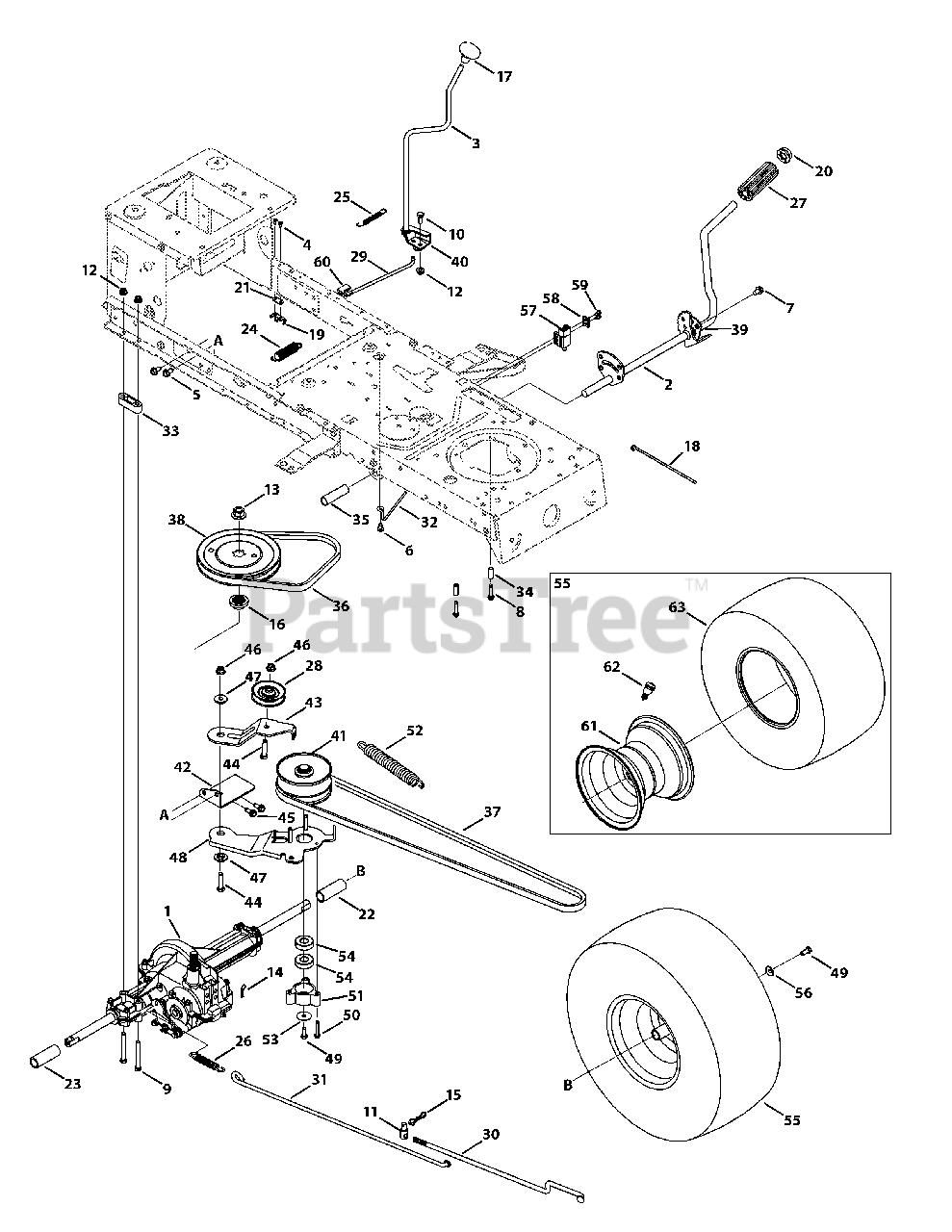MTD Genuine Parts 42 inch Deck Drive Belt OEM-754-04060