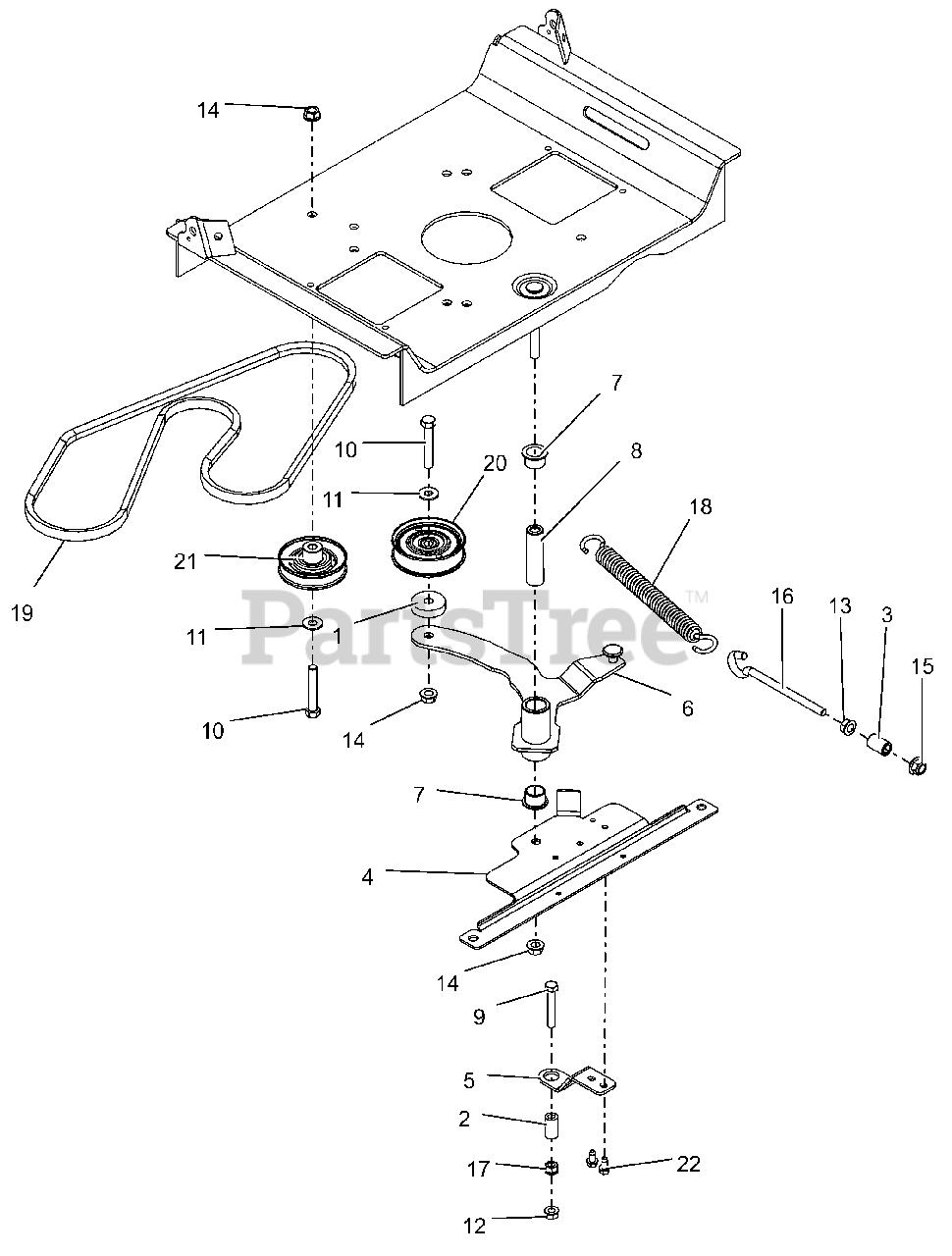 Gravely Drive Belt Diagram : gravely, drive, diagram, Gravely, 915200, Zero-Turn, Mower,, Kohler, 080000, Above), Transaxle, Drive, Parts, Lookup, Diagrams, PartsTree