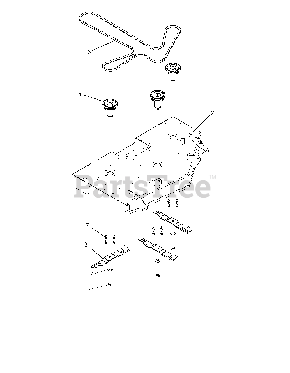 Gravely Drive Belt Diagram : gravely, drive, diagram, Gravely, 915172, Zero-Turn, Mower,, Kohler, 040000, Above), Deck,, Belt,, Blades, Spindles, Parts, Lookup, Diagrams, PartsTree