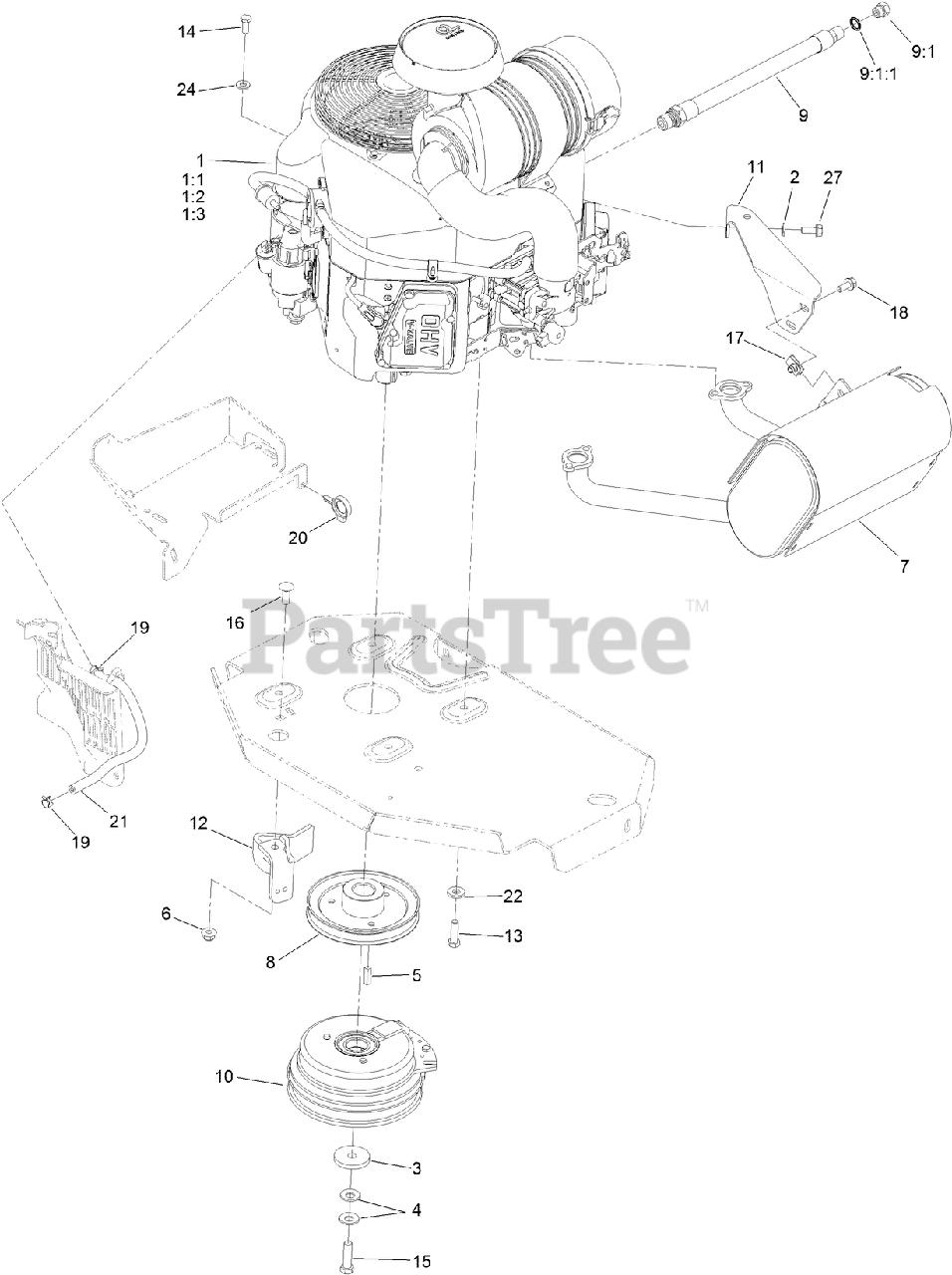 Amazon.com: Toro OEM Replacement Belt 99-4647 5/8x142, FITS...