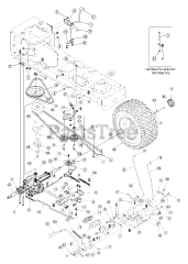 13at609g766 Super Bronco (2005) : 13at609g766, super, bronco, (2005), Troy-Bilt, 13AT609G766, Super, Bronco, Tractor, Parts, Lookup, Diagrams, PartsTree