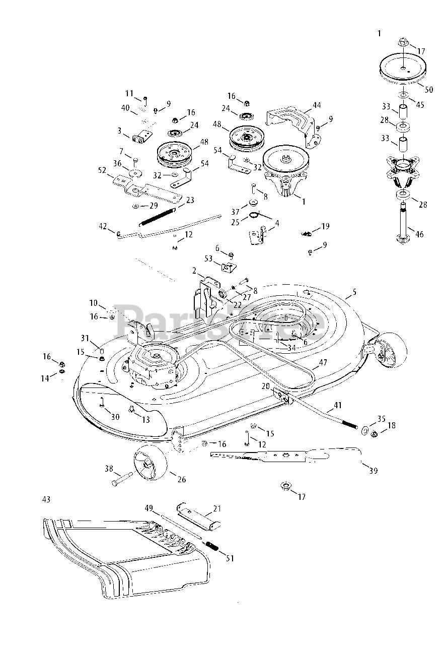 Craftsman Lt2000 Deck Diagram : craftsman, lt2000, diagram, Craftsman, 247.288843, (13BJ78SS099), LT2000, Tractor, (2013), Mower, Parts, Lookup, Diagrams, PartsTree