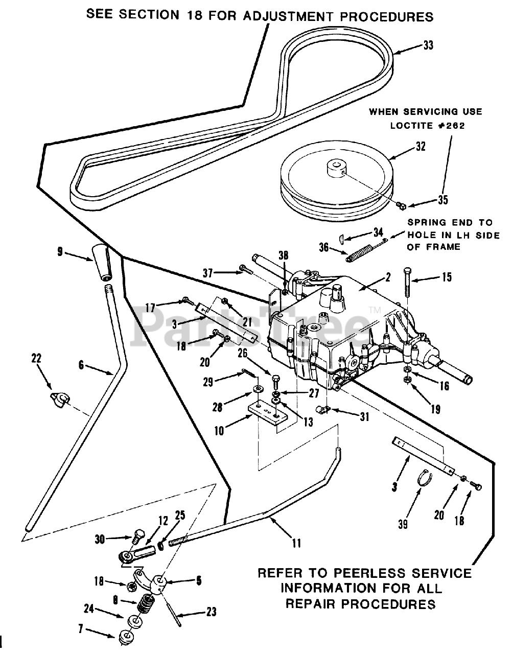 Toro Wheel Horse Parts Lookup : wheel, horse, parts, lookup, 32-10B501, (210-5), Tractor, (1990), 5-SPEED, TRANSMISSION, Parts, Lookup, Diagrams, PartsTree