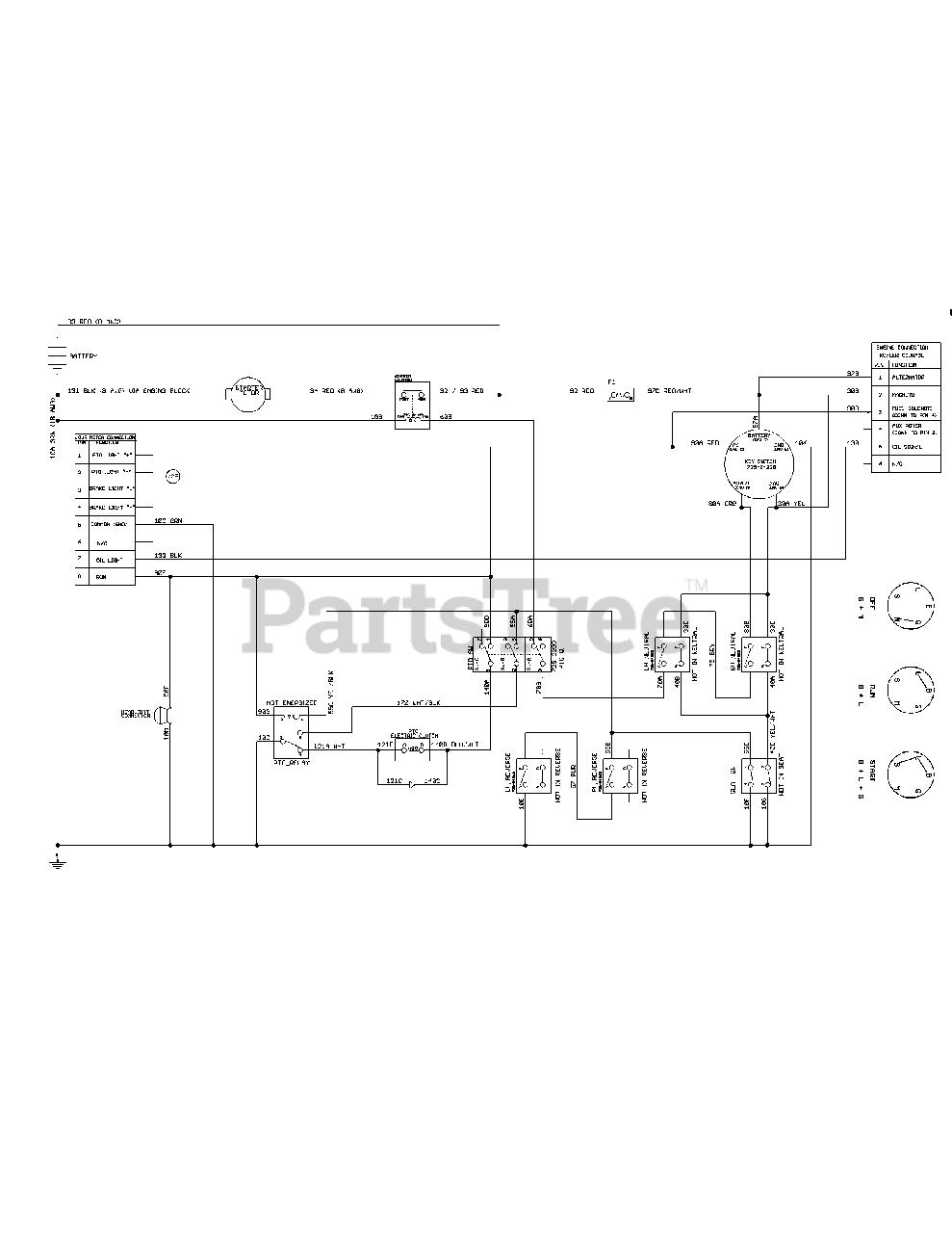Cub Cadet RZT-L54 KH FAB (17CRCACA009) (2018) Parts Diagrams