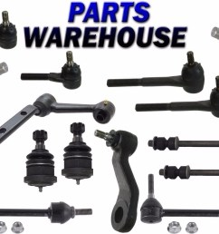 14 pc kit front suspension for grand marquis town car crown victoria 1991 mercury grand marquis interior 1995 mercury grand marquis front end diagram [ 1489 x 1115 Pixel ]