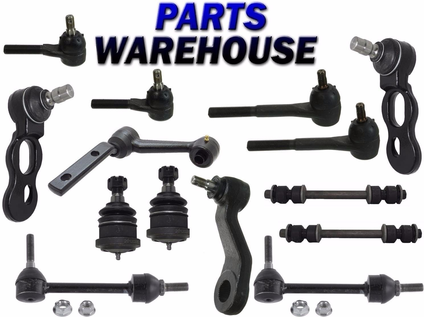 hight resolution of 14 pc kit front suspension for grand marquis town car crown victoria 1991 mercury grand marquis interior 1995 mercury grand marquis front end diagram