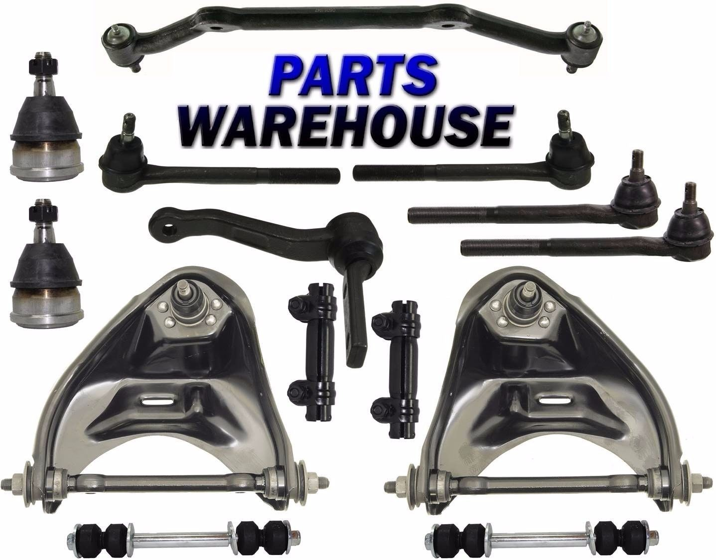 hight resolution of 14 pcs kit front suspension for chevrolet blazer s10 gmc jimmy sonoma 2wd