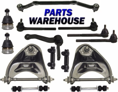 small resolution of 14 pcs kit front suspension for chevrolet blazer s10 gmc jimmy sonoma 2wd