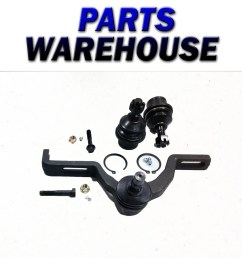 2 lower ball joints 1 upper control arm ford explorer ranger 1 year warranty [ 1546 x 1600 Pixel ]