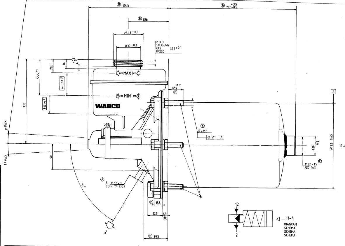 Air Hydraulic Actuator