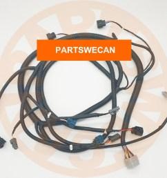 hydraulic pump wire harness isuzu 6bg1 engine hitachi excavator aftermarket part [ 1000 x 1000 Pixel ]