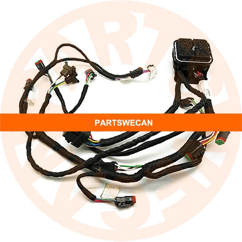 hight resolution of wire harness 235 8202 caterpillar c9 engine 330d e330d excavator caterpillar equipment wiring harness