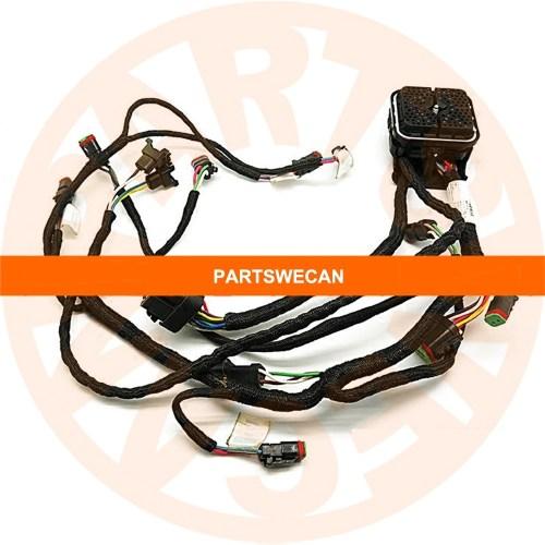 small resolution of wire harness 235 8202 caterpillar c9 engine 330d e330d excavator caterpillar equipment wiring harness