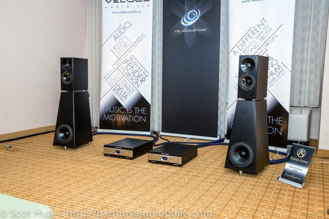 Veloce Audio with Kronos Audio and YG Acoustics