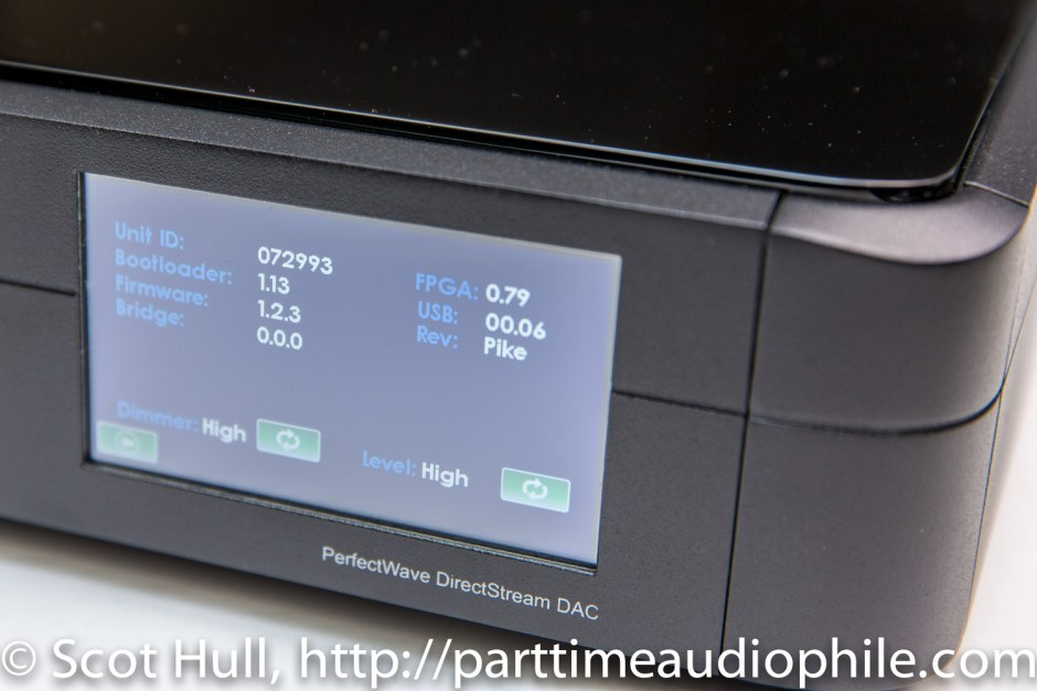 PS Audio DirectStream interface