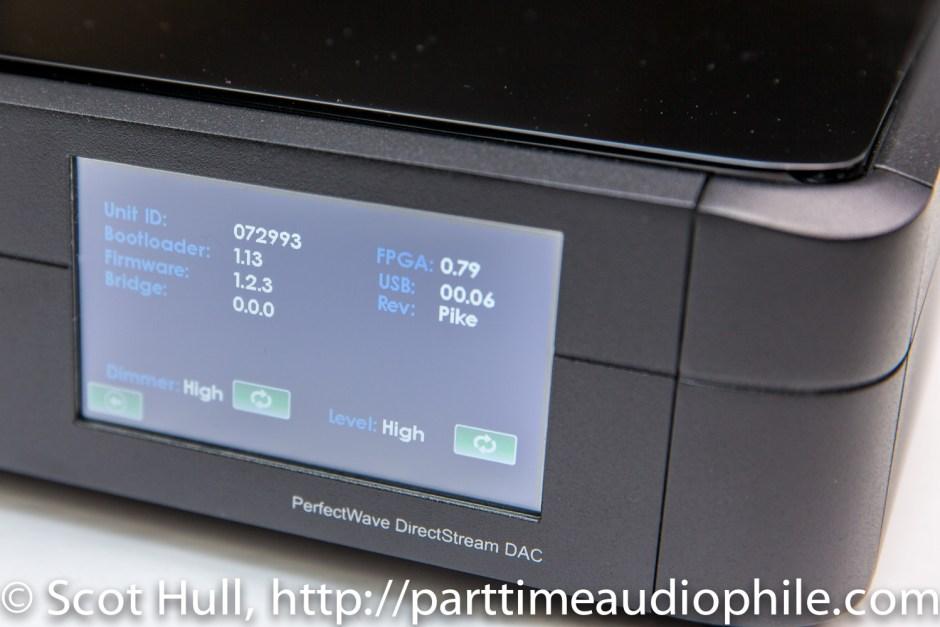 PS Audio DirectStream interface