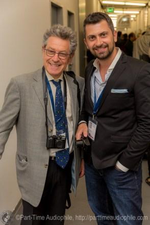 Stereophile's Michael Fremer and Traveler Panagiotis Karavitis
