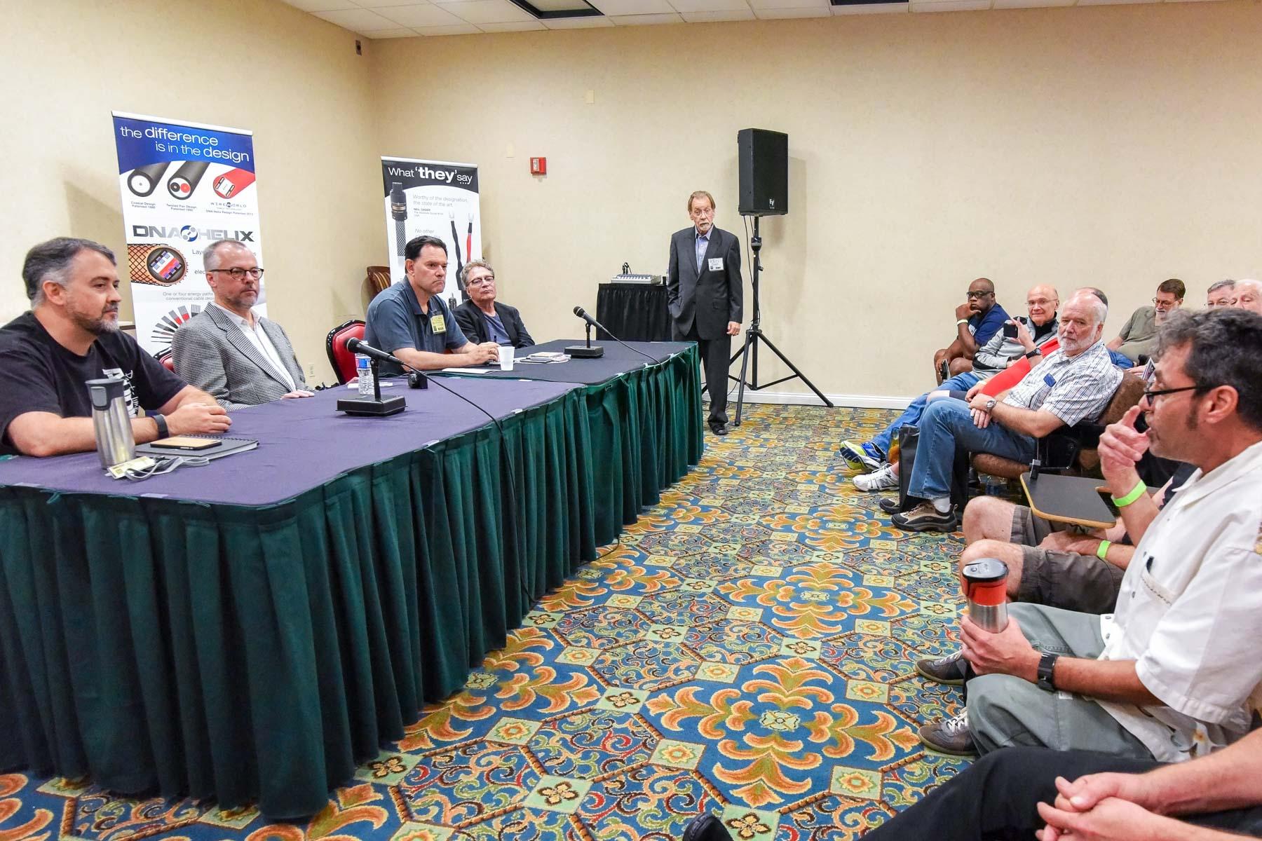 The Panel, Photo courtesy of Paul Elliott.