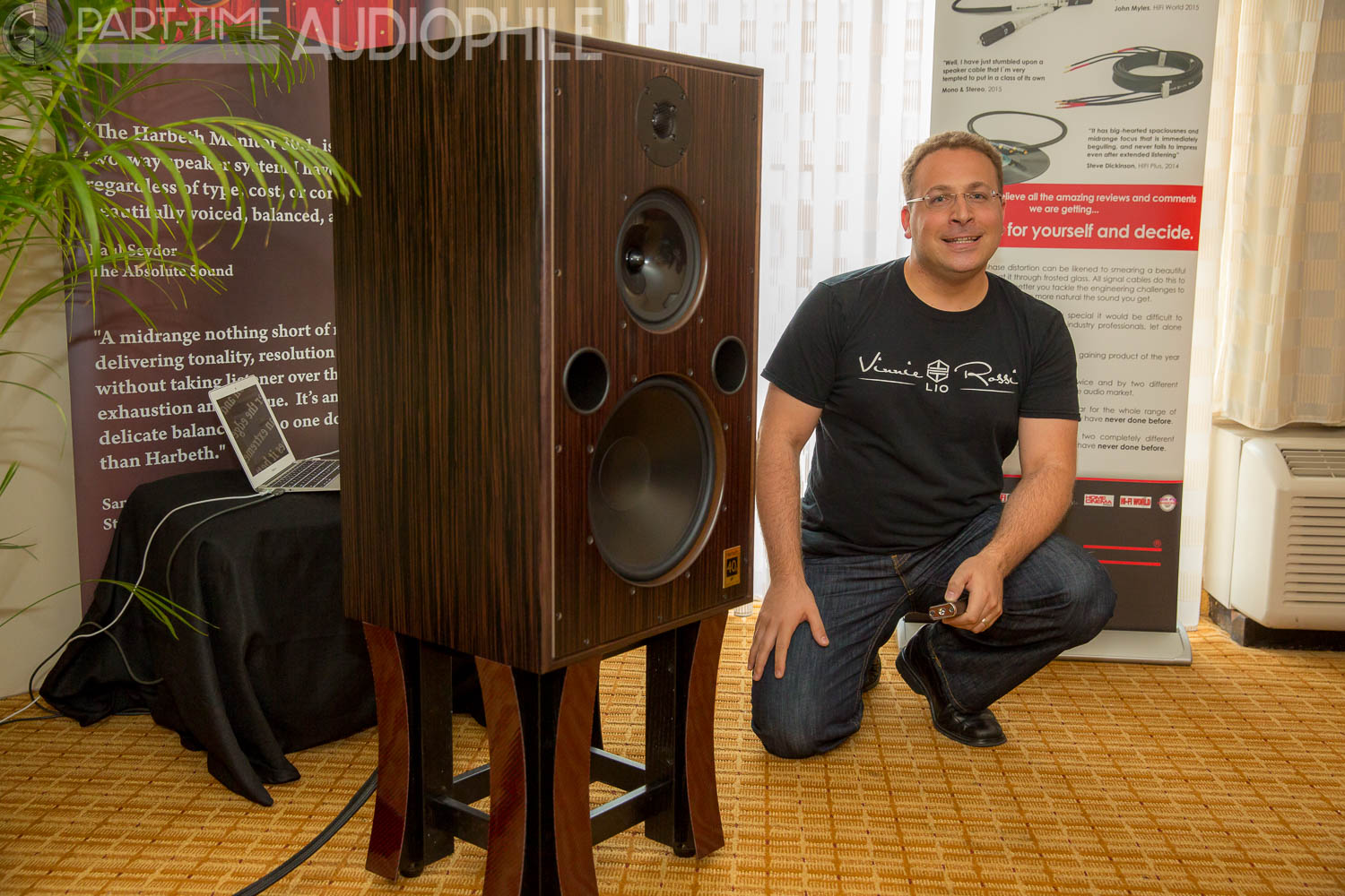 RMAF 2015: Harbeth and Vinnie Rossi show a capacity for fine sound