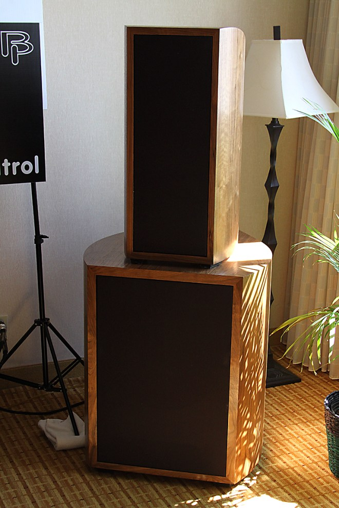 Pump up the volume. Not as deep in the bass as I'd like, but a beautifully-built speaker