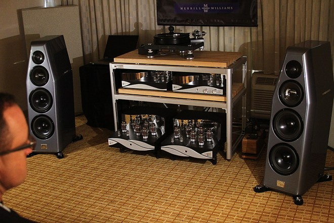 The Zesto gear combined with the Kharma International Double Nine Signature loudspeakers