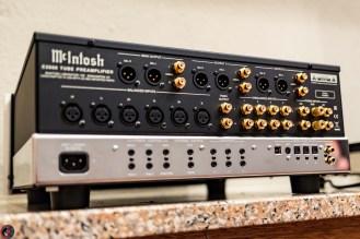 McIntosh C2600, rear